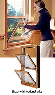 Fiberglass-Ultra Wood Clad Double Hung Tilt