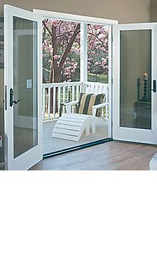 Fiberglass-Ultra Wood Clad doors