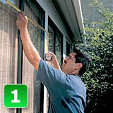 U Measure It | Measure the replacement window opening.