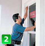 U Measure It | Remove the old window and install the new replacement window.