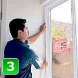 U Measure It | Insulate and trim the interior of the window.